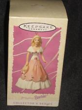 1997 Barbie SPRINGTIME Ornament Hallmark NRFB