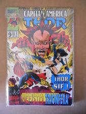 CAPITAN AMERICA & THOR n°9 1995 Marvel Italia  [G696]