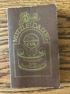 1977 CONNECTICUT VALLEY ARMS MUZZLE LOADING MANUAL