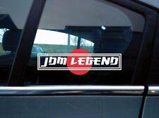 2x F*CK YOUR HYBRID Vinyl Die-Cut Sticker Decal Funny JDM Slammed Stance Window
