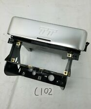 1999-2006 AUDI TT MK1 RADIO ALUMINUM COVER CLIMATE TRIM ASSEMBLY OEM
