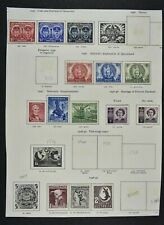 AUSTRALIA, a collection on 5 album pages, MM condition (lot A)