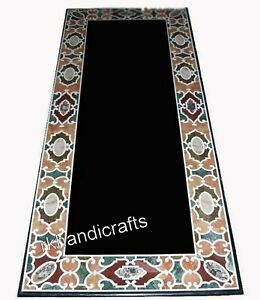 30 x 72 Inches Marble Dining Table Top Antique Work Conference Table for Office
