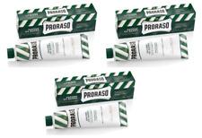 Proraso Shaving Cream, Eucalyptus and Menthol, 150ml Tube (3 Pack)