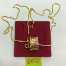 GoldNMore: 18K Gold Necklace And Pendant 18 inches (white/yellow/rose gold) SPOG