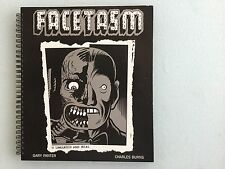 Charles Burns & Gary Panter: FACETASM, Signed By Both, Limited Edition 1/300