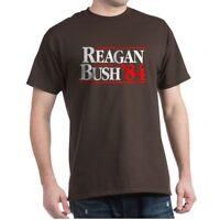 CafePress Reagan Bush '84 Campaign T Shirt 100% Cotton T-Shirt (954023850)