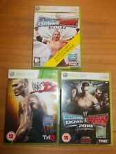 X Box 360 Games Bundle WWE