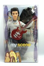 My Scene RIVER Hanging Out Boy Doll Red Guitar Leather Jacket 2003