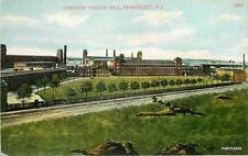 C-1910 Factory Conants Threat Mill Pawtucket Rhode Island Bossleman 8063