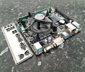 i5-4460 @ 3.20GHz 8GB Crucial DDR3 Gigabyte GA-H81M-S2V CPU Ram Combo EK2004