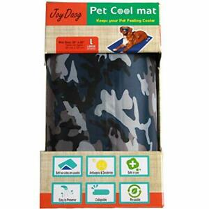 Dog Cooling Mat for Large Dogs, Non-Toxic Gel (Camouflage Pattern)