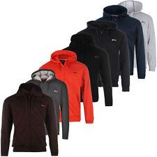 Slazenger Zip Capuche Sweat-Shirt Pull S M L XL 2XL 3XL 4XL Neuf