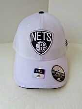 BROOKLYN NETS NBA ADIDAS CAP HAT FLEXFIT L/XL ~  NEW