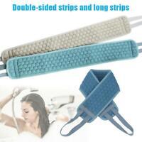 Doppelseitiger Rückengurt Langes Scrubber-Bad Peeling-Schwammbürste Spa-Körper