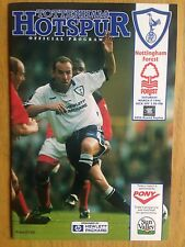 Tottenham Hotspur v Nottingham Forest 1995/96 FA Cup programme