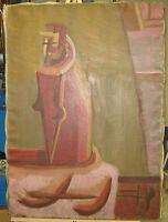 Harold Mesibov '50s Mid-Century Abstract Listed Philadelphia Artist