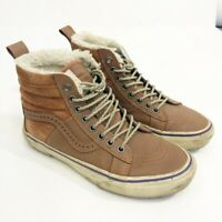 "Vans ""scotchguard"" SK8-HI 46 MTE Sherpa Shoes Hana Beaman Brown Size 7 Womens"