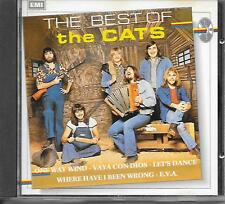 THE CATS - The Best of the Cats CD Album 14TR (EMI BOVEMA) 1988 Holland RARE!