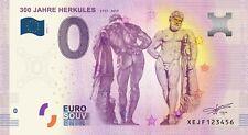 EURO-SCHEIN EUROBANKNOTEN 300 JAHRE HERKULES 2017 0 EURO GELDSCHEIN BANKNOTEN