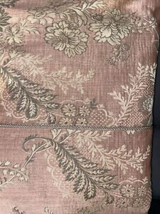 Neiman Marcus Bay Linens Inc.Floral Brocade FULL/QUEEN-Duvet Cover Pink/Gold