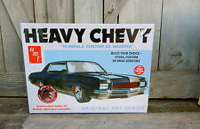 AMT ERTL1970 CHEVROLET IMPALA SS STOCK/CUSTOM/DRAG 1/25 TH SCALE PLASTIC MODEL