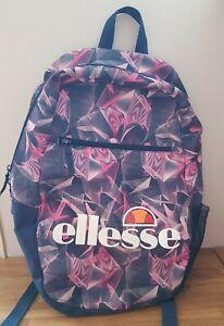 Ellesse Girls Backpack - Blue/Pink/Purple, damaged,  please see pictures