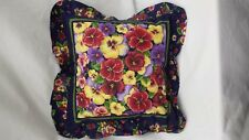 "Pansy  16"" Throw Pillow"