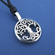 Irish Pewter Tree of Life Pendant and Full Length Cord