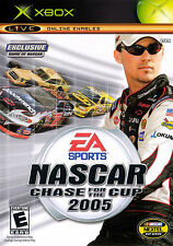 Nascar 2005 Chase For The Cup Xbox Great Condition Complete Fast Shipping