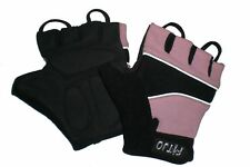 PINK GEL PADDED CYCLING / CYCLE / BIKE BMX MTB RACING BICYCLE  GLOVES XXXXS -S