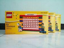 Brand New LEGO BRICK CALENDAR 853195 Factory Sealed Box MINT