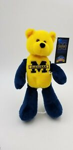 2000 Michigan Wolverines College Bear - Limited Treasures