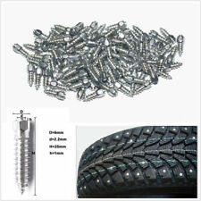 100x 25mm*6mm Car SUV Truck Wheel Tire Studs Screws Snow Spikes Chains Winter