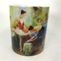 Saint Petersburg Coffee Mug Souvenir Girls Prepare For Dancing Print Tea Cup C10