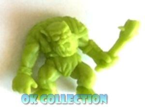 MONSTER IN MY POCKET : Ogre Orco n.32 olive green verde oliva