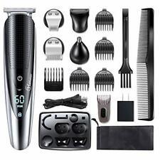 Hattteker Mens Hair Clipper Beard Trimmer Grooming kit Hair trimmer Mustache tri