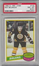 1980 O-Pee-Chee, Ray Bourque, Boston Bruins,  PSA 8 (OC) NM - MT