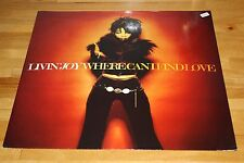 "Livin' Joy ‎– Where Can I Find Love 12"" vinyl 1997 MCA Records ‎– MCST 40108"
