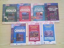 7 Libros Guia Natural De España (Diario Tiempo)
