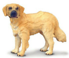 DOG GOLDEN RETRIEVER FIGURINE GOLD TAN AND BLACK PET COLLECTA TOY STANDING NEW