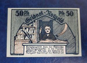 SCHMÖLLN NOTGELD 50 PFENNIG 1921 NOTGELDSCHEIN (12954)