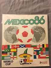 PANINI MEXICO 86  WORLD CUP 1986 COMPLETE ALBUM RARE ORIGINAL