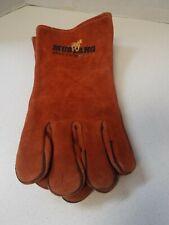 Mustang Cowhide Welders Welding Gloves Sewn With Kevlar Large