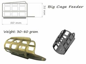 Life Orange Big Cage Feeder Futterkorb 30 g - 80 g, Feederfischen, Feedern