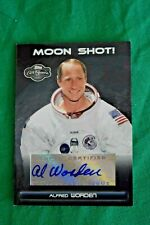 Topps Co-Signers Moon Shot Alfred Al Worden Autograph Signed NASA Apollo 15 2007