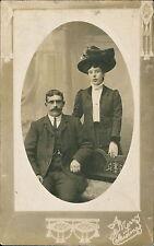 Gentleman lady hat 'Merry Christmas'       QR1106