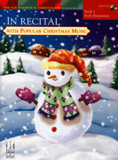 In Recital with Popular Christmas Music, Book 1 - Piano Songbook FJH1761