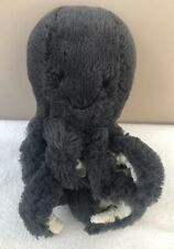 Jellycat Baby Inky Octopus Small Soft Toy Comforter Black Odell Baby Plush