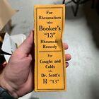 Antique BOOKER'S Damiana Compound Medicine Box Norfolk, VA Manhood